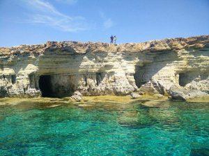 Grottor i Ayia Napa