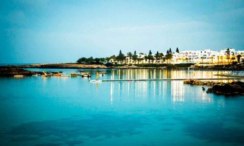 På kvällen är en romantiskt promenad längs stranden alltid givet.