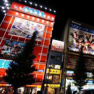 Akihabara på natten