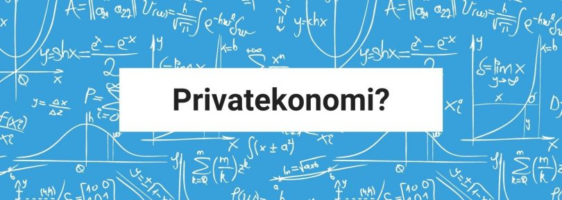 Privatekonomi
