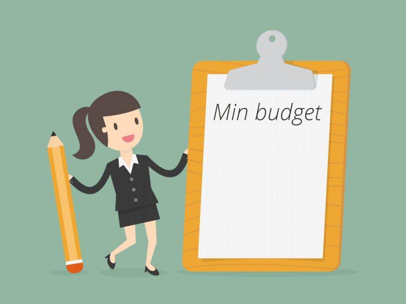Min budget