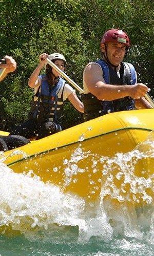 Forsränning i Zrmanja floden