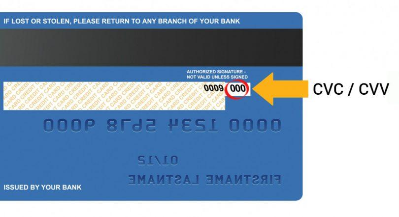 640d549c3e8 Säkerheten på korten - Vad är en CVC/CVV-kod? - Buffert