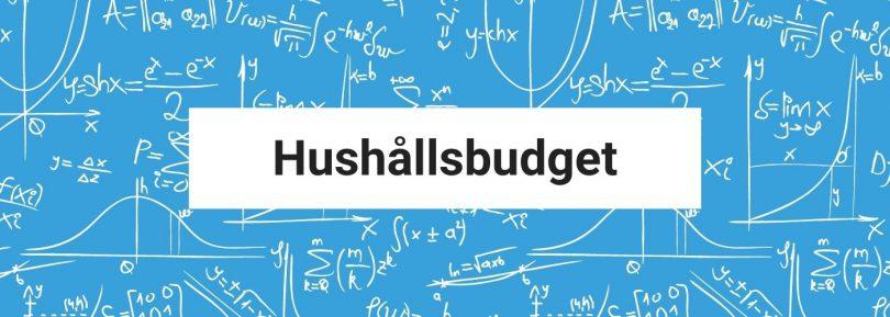 Hushållsbudget