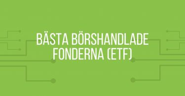 Bästa börshandlade fonder (ETF)