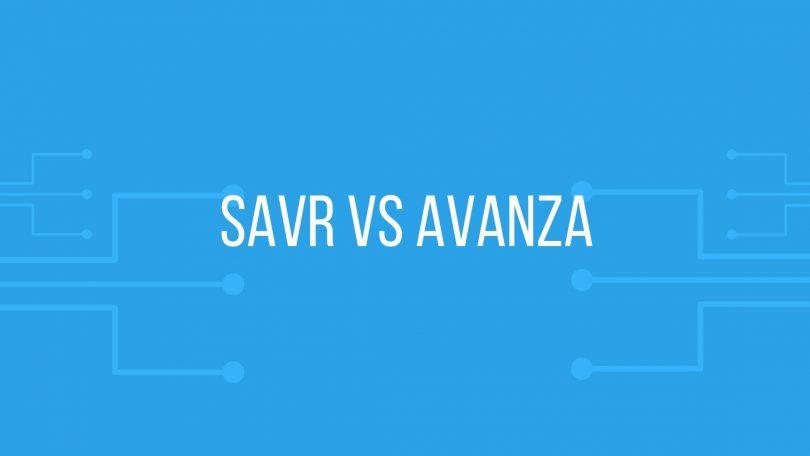 SAVR vs Avanza